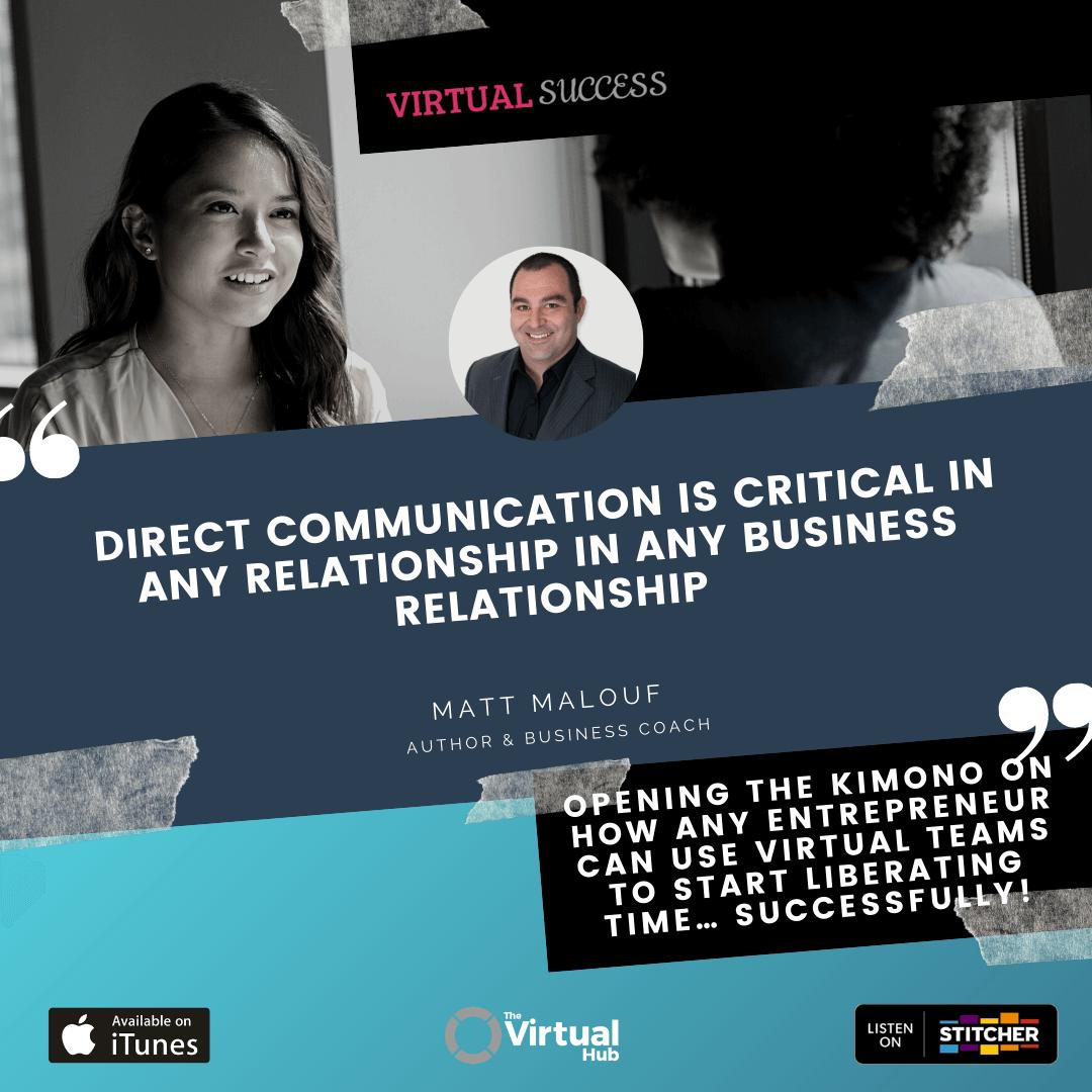 use a virtual team